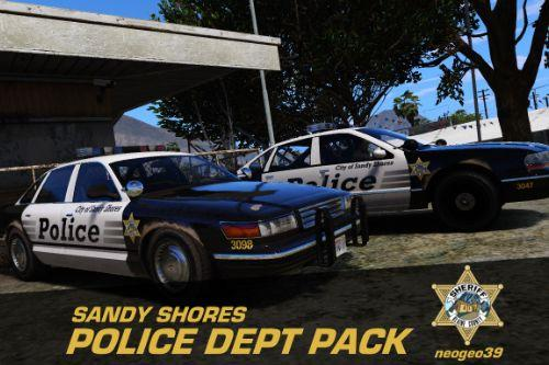 Sandy Shores Police Department Pack [Add-On]