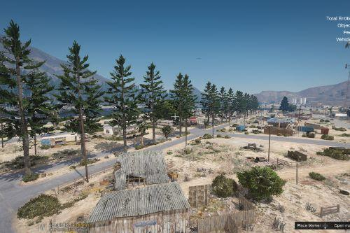 SANDY SHORES  REMASTERED (A LOT MORE TREES)