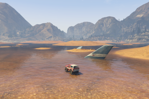 Sandy Shores Shallow Lake [Menyoo]