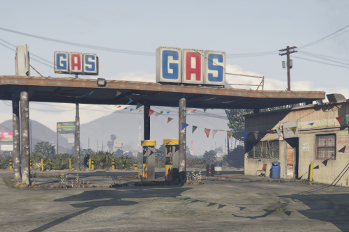 Sandy Shores Updated Gas Station [Menyoo]
