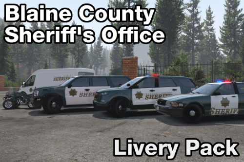 Santa Cruz based BCSO liveries [2K & 4K]