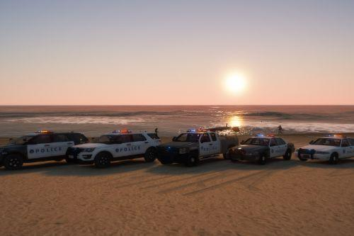Santa monica police department vehicle pack SMPD [ELS]