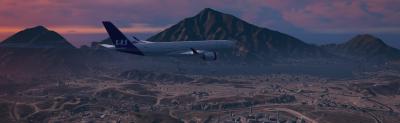 SAS A350 Livery