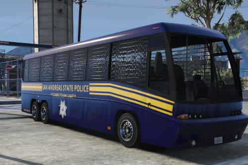 SASP Prison Transportation Bus