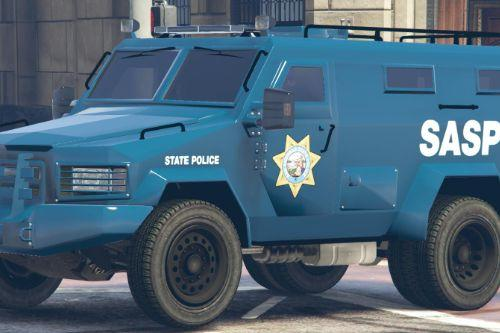 SASP SWAT Lenco Bearcat San Andreas State Police Truck Livery (4K)
