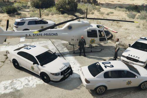 San Andreas State Prison Authority (SASPA) Maverick [Add-On]