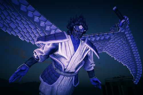 Sasuke's Perfect Susanoo (Final Form) + Animated Wings  [Addon]