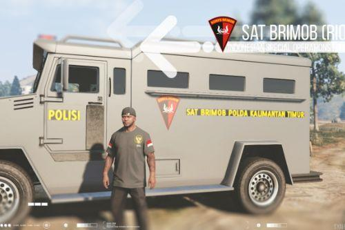 Sat Brimob (Indonesian Mobile Brigade) Skin for Riot