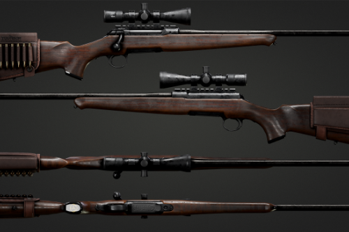 Sauer 101 Hunting Rifle [Animated | 4K]