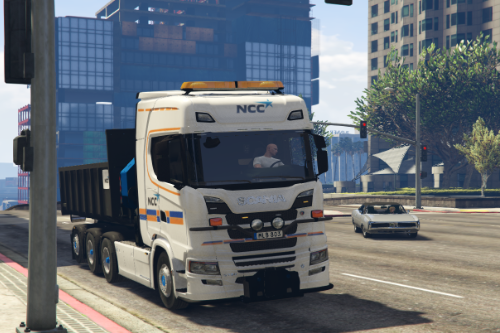 Construction truck - Scania S730 [ELS | Replace / FiveM]