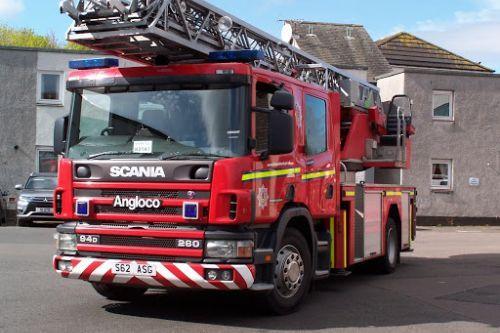 Scania 94D TL / Scottish Fire & Rescue Service Siren Pack