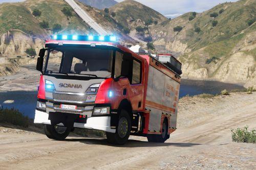 Scania - HLF | Feuerwehr Österreich | Skin