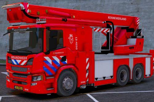 Scania P360 Brandweer Kennemerland [ELS/Scripted]