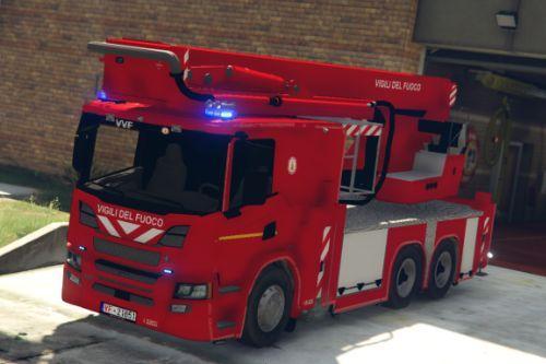 Scania P360 Vigili del fuoco - Piattaforma [ELS]