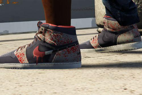 """Scare Jordan"" 1 Vick Almighty x Trent C Custom"