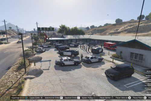 Blaine County Crime Scene