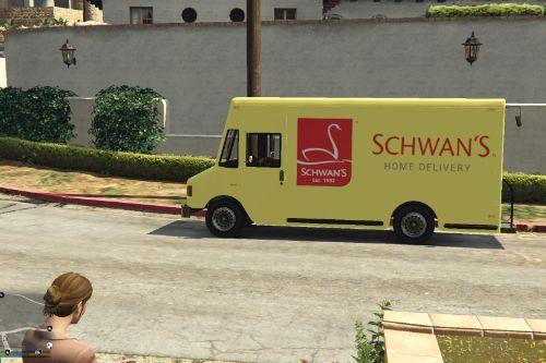 Schwan's Home Delivery Truck