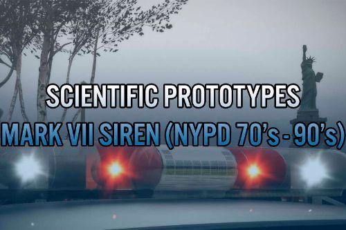 Scientific Prototypes Mark VII Siren ( 70's - 90's NYPD )
