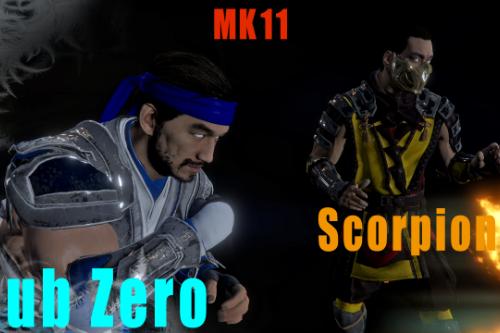 Scorpion & Sub Zero MK11 Pack