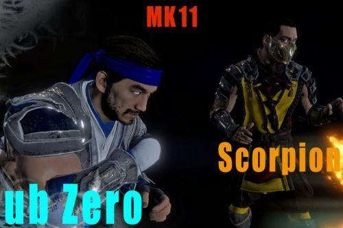 Scorpion-SubZero(Mortal Kombat 11)