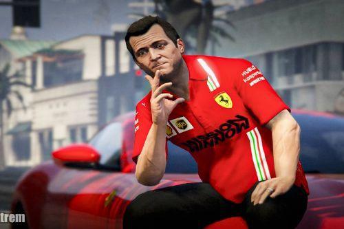 Scuderia Ferrari shirt for michael