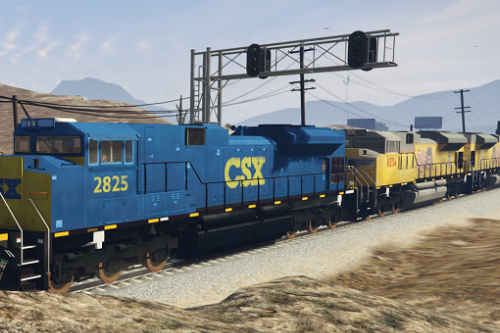 SD70ACe Locomotive with liveries