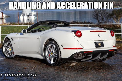 Handling for se7enmoon's 2015 Ferrari California T