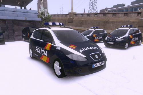 Seat Altea XL - Policía Nacional Z - CNP (Spanish Police)