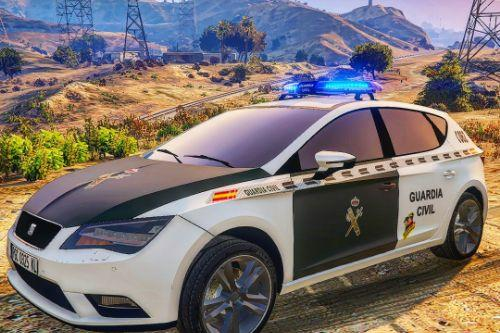Seat Leon Guardia Civil [Replace | ELS]