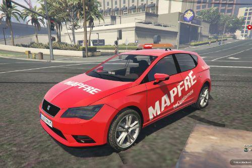 Seat Leon MAPFRE of Spain/España Paintjob