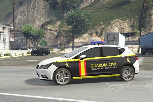 Seat Leon TGI - Guardia Civil Seguridad Ciudadana