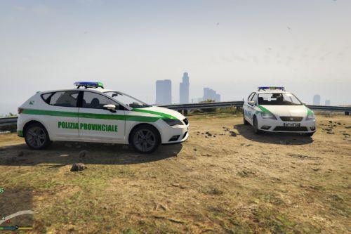 Seat Polizia Provinciale Paintjob