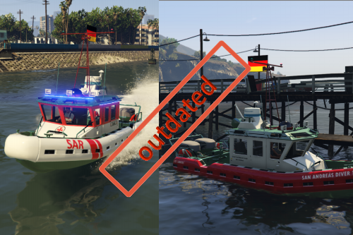 Seenot-Rettungsboot + Zivilboot [MOD veraltet]