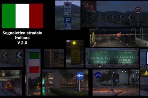 Segnaletica Stradale Italiana - Italian Road Sign [Full Package] [Pacchetto Completo]
