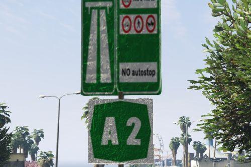 Segnali Identificativi Numero Autostrada