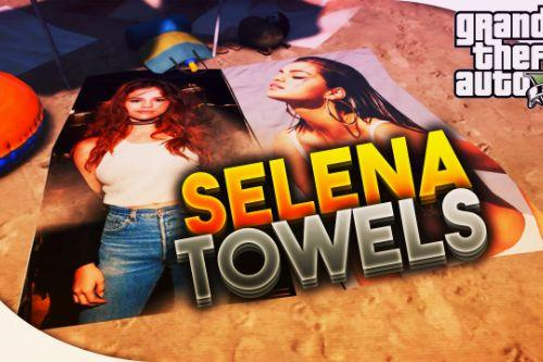 Selena Gomez towels