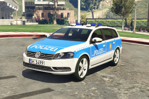 German Police Skin for AchillesDK's Passat (Semi-Realistic)