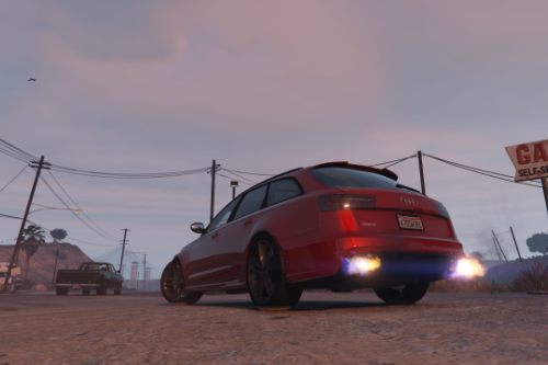 Semi-realistic handling for Audi RS6 C7 by tk0wnz