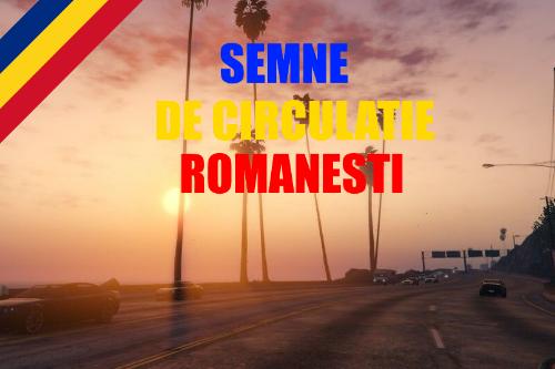 Semne de circulatie romanesti