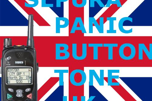 Sepura Panic Button Tone UK