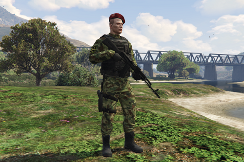Serbian Armed Forces Uniform for MP Male