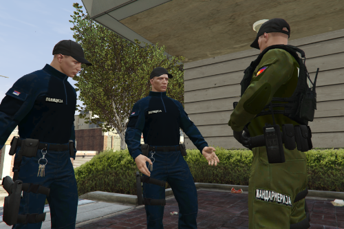 SERBIAN POLICE UNIFORMS for [MP Freemode]