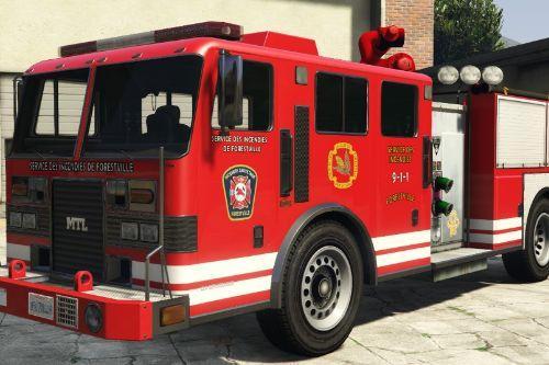 Service Incendies Forestville (Firetruck Texture)