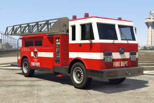 SF Firetruck from GTASA [Add-on / Ladder works / FiveM]