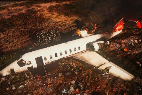 Shamal Learjet 45 liveries [ including crashed Shamal ]