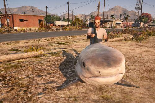 Shark Car & Shark Boat [Menyoo]