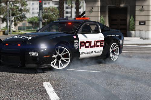 Ford Shelby GT500 | Hot Pursuit Police [Add-On / Replace | Template]