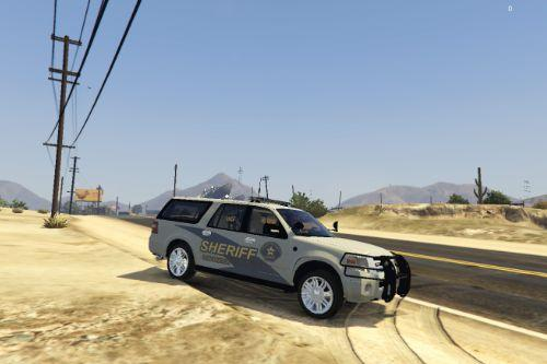 Sheriff Ford Expedition (Lots of Skins)