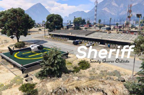 Sheriff Sandy Shores Outside [Fivem / Ymap]