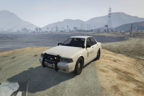 Vapid Sheriff Cruiser without lightbar